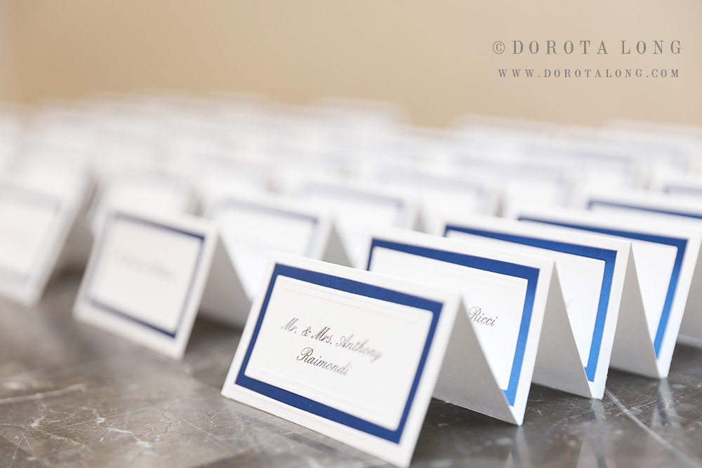 anthonys ocean view reception wedding venue in connecticut, photograph taken by top wedding photographer in ct. Name tags were created by the wedding planner in ct . small wedding in new haven, ct.